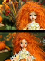 Fall Shoot: Angel Face by Azyntil