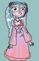 Princess Sonia as in One Piece by PowderPuffBunny