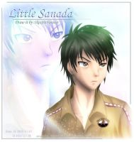 Just colour little Sanada by Kauthar-Sharbini