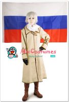 Hetalia Axis Powers Russia Cosplay Costume by miccostumes