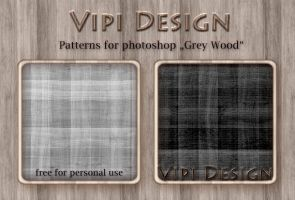 Patterns - Grey Wood by elixa-geg