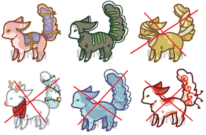 **OPEN** Adorable Creature Adopts by Lt-Frogg