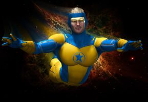 Booster Gold by hiram67
