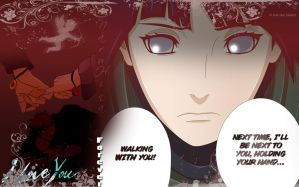 NaruHina Wallpaper - Walking with you! manga 573 by HeroAkemi