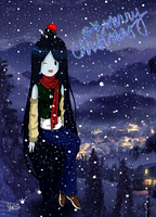Merry Christmas Marceline by Yumi-kito