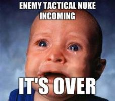 Tactical Nuke incoming by Hikarilover123