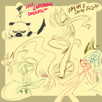 Livestream Doodles 2 by VivzMind