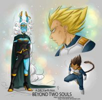 DBZ - Beyond two Souls - Sketches Part 2 by RedViolett