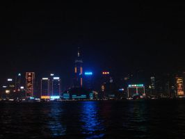 Nightscape HK by kaiyi