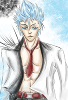 Grimmjow for Bleeding-flower by miss-mustang