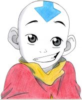 Aang by Quinninism
