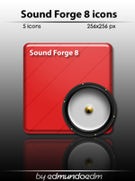 Sound Forge 8 icons by edmundoedm