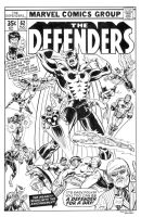 Defenders 62 Cover Recreation by dalgoda7