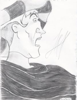 Frollo Sketch by TheArmyArtist