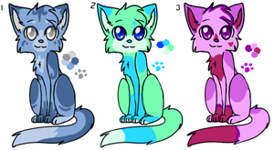 Adoptable cats {OPEN} by VioletKat-214