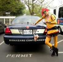 Bowser and an Umbrella Corporation Car by GeekStarCostuming
