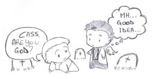 SPN Humor - Are You God by Fengtianshi