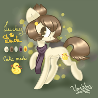 Lucky Duck reference sheet by Vpshka