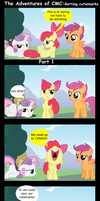 The Adventures of CMC: Getting cutiemarks Part 1 by BraveMoonGirl
