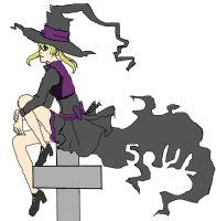 Maka is a witch -colored- WIP by thisiswhatwelivefor