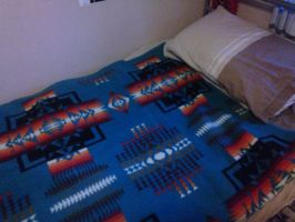Native Bed sheet by Doomsday71