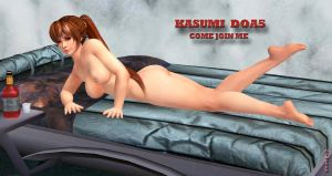Kasumi  DOA5  COME JOIN ME   3-18-2015 by blw7920