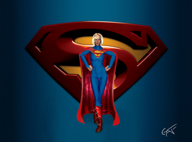 SuperGirl -Wallpaper by GustavoArmando
