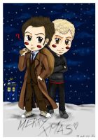 MERRY XMAS from Time Lords by VincentChan