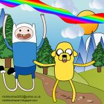 Finn and Jake Adventure Time Fan Art by Mick2006
