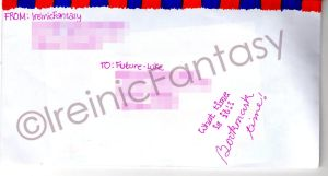 Proof of Mailing by IreinicFantasy