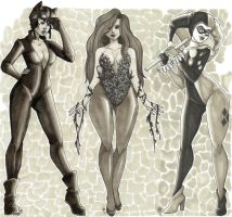 gotham city sirens by RikuxTee