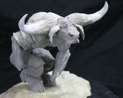 Bonner Minotaur getting there 2 by RavendarkCreations