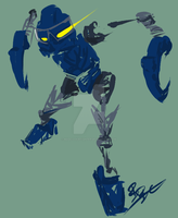 Bionicle - Gali by MadCookiefighter