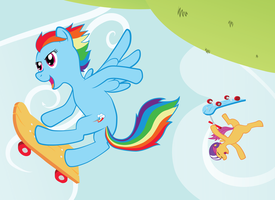 My Friend Rainbow Dash by Poniker