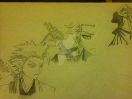 Many toshiro :P by NekoLuki