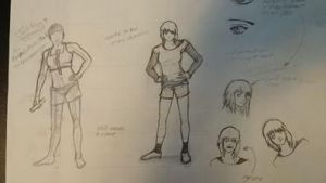Female Concept Character by JAMA1995