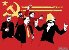 Communist Leaders party by luba4ko