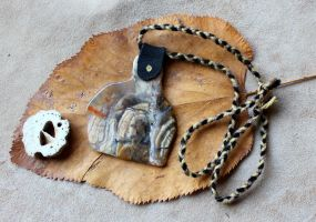 Oregon Agate Necklace by lupagreenwolf
