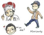 Moriarty chibis by ToNDWOo
