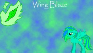 Wing Blaze by MonsterPon3