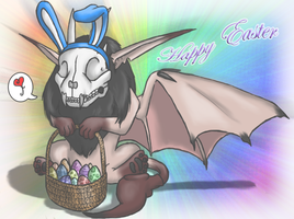 Amber Wishing You A Happy Easter 2012 by Pokemon-Chick-1