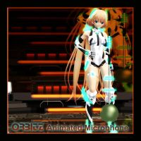 MMD Angela's ORBITZ animated microphone by Trackdancer