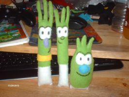 life sized Scallions by PlushBuddies