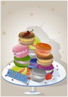 Macaroons by Diaphane