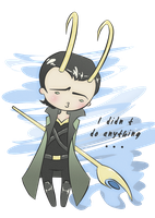 Little Loki by Trooperella
