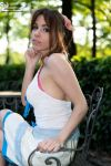 not an angel just Aerith by ange-lady-yunashe
