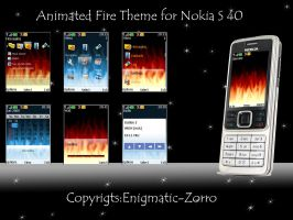 Animated Fire for Nokia S40 by Enigmatic-Zorro
