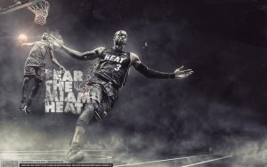 Miami Heat Wallpaper by Angelmaker666