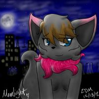 In the City, Under the Moonlight by xAuraSolarisx
