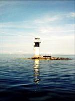 One Of Many Lighthouses In The Archopelago Sea  by eskile